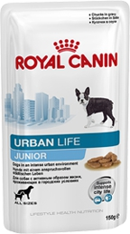 Консервы Royal Canin Urban Life Junior для щенков