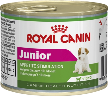 Консервы Royal Canin Junior Mousse для щенков