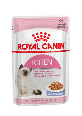 Консервы Royal Canin Kitten Instinctive в желе для котят