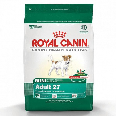 Сухой корм Royal Canin Mini Adult 8+ для пожилых собак малых пород