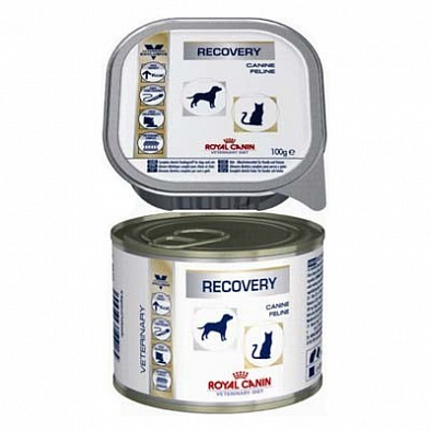 Консервы Royal Canin Veterinary Diet Recovery для взрослых собак, Период восстановления
