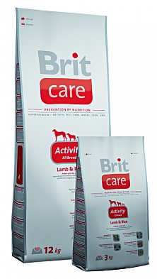 Сухой корм Brit Care Activity All Breed