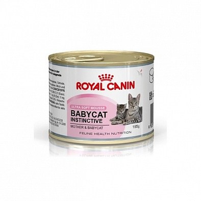 Консервы Royal Canin Babycat Instinctive для котят